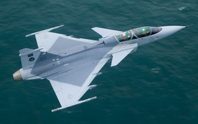 Picture Gripen, JAS 39, You CAN, Gripen JAS 39, SOUTH AFRICAN AIR FORCE