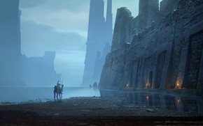 Picture computer game, Raphael Lacoste, Assassin's Creed Origins, Lost Ruins