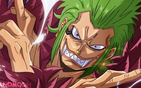 Picture pirate, fangs, One Piece