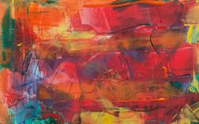 Picture line, paint, canvas, strokes