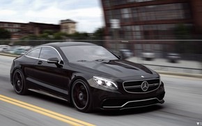 Picture Auto, Black, Machine, Mercedes, Car, Car, Render, AMG, Rendering, Black color, Transport & Vehicles, Mercedes-Benz …