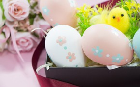 Picture eggs, Easter, Holiday