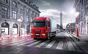 Picture transport, iveco, delivery, eurocargo