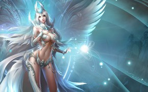 Picture girl, League of Angels, League of angels, an angel