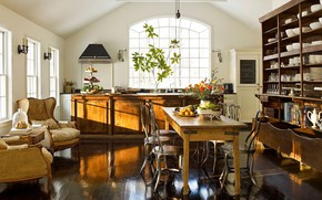 Picture style, interior, kitchen, dining room, Vintage Lifestyle