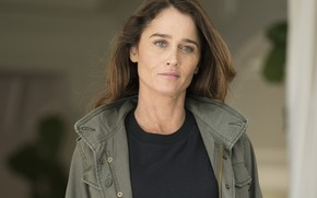 Picture look, pose, jacket, Justice, the series, Robin Tunney, Robin Tunney, Maya Travis, The Fix