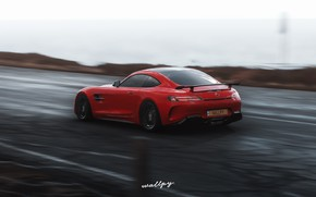 Picture Mercedes-Benz, Microsoft, game, AMG, 2018, GT R, Forza Horizon 4, by Wallpy