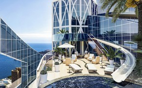Picture the city, the building, pool, Penthouse, Los Angeles, terrace, Los Angeles, Eclectic