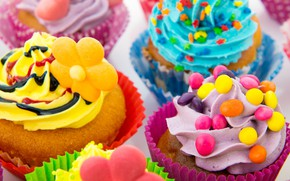 Picture the sweetness, dessert, cakes, cupcake