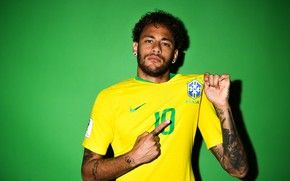 Picture Russia 2018, Neymar, player, Neymar, FIFA World Cup 2018, football