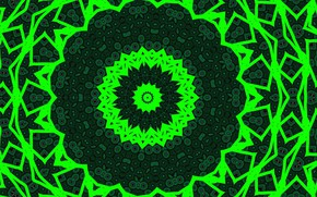 Picture pattern, color, green
