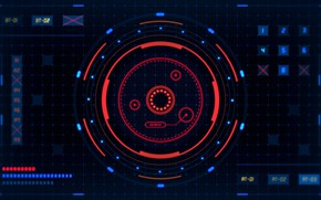 Picture Background, Monitor, Render, Screen, Background, Screen, Monitor, Keita Chiyomatsu, Sci-Fi Monitor, by Keita Chiyomatsu