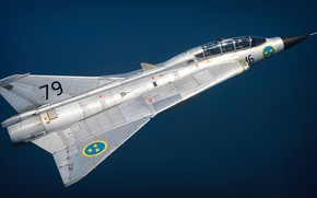 Picture Fighter, You CAN, Swedish air force, Can 35 Draken