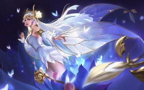 Picture girl, fantasy, fairy
