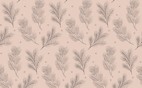 Picture branches, background, pattern
