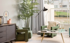 Picture Palma, lamp, interior, chairs, living room