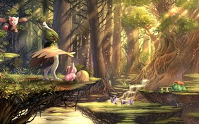 Picture Forest, Pokemon, Pokemon, Pokemon, karamimame