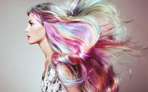Picture look, girl, style, hair, makeup, Oleg Gekman