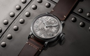 Picture silver, Zenit, Pilot, Zenith, Swiss Luxury Watches, 2019, Swiss wrist watches luxury, analog watch, Zenith …