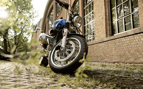 Picture Blue, Motocycle, BMW R nineT