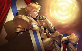 Picture Gilgamesh, Archer, The fate of the beginning, Fate / Zero