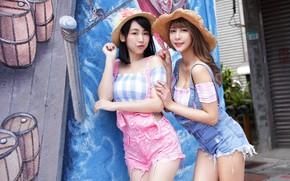 Picture cuties, Asian girls, girls, veselushka