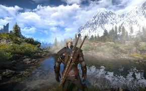 Picture the game, the Witcher, The Witcher 3: Wild Hunt, skellige