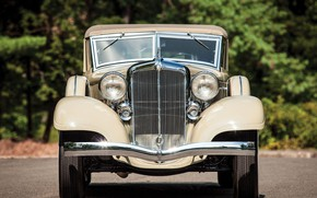 Picture Roadster, front view, Convertible, Chrysler Custom Imperial