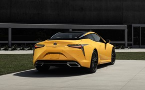 Picture Lexus, rear view, LC 500, 2019, Inspiration Concept