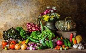 Picture autumn, harvest, pumpkin, still life, vegetables, autumn, still life, pumpkin, vegetables, harvest