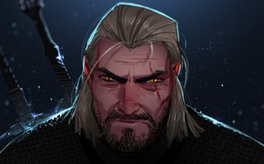 Picture Geralt of Rivia, Geralt of Rivia, The Witcher 3: Wild Hunt