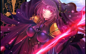 Picture girl, Lancer, Lancer, Fate / Grand Order, The destiny of a great campaign
