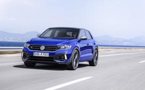 Picture speed, Volkswagen, crossover, 2020, T-Roc, T-Roc R