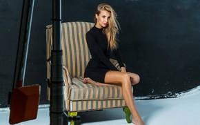 Picture look, girl, pose, model, blonde, legs, beauty, Nikitina Elena