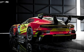 Wallpaper Aston Martin, The Mans, Machine, Rendering, GTE, Sports car, Vulcan, Aston Martin Vulcan, Benoit Fraylon, ...