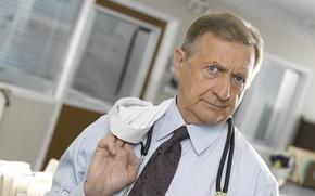 Picture look, pose, the series, hospital, Scrubs, the doctor, Clinic, Ken Jenkins, Ken Jenkins, Bob Kelso