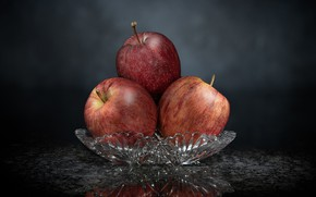 Picture background, apples, fruit