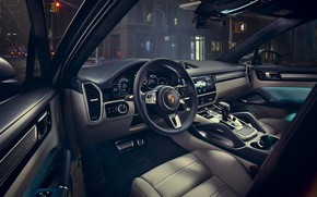 Picture Porsche, salon, Coupe, Turbo, Cayenne, 2019