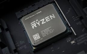 Picture AMD, processor, Corn, Ryazan, RYZEN, 2700X, Ryzen 7, Ryazhenka, AM4