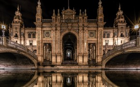Picture Santa Cruz, Andalusia, Seville, Plaza of Spain