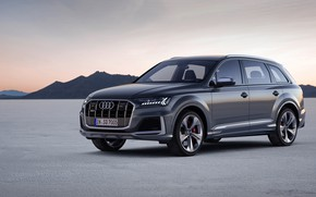 Picture Audi, TDI, crossover, SQ7, 2019