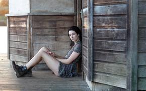 Picture shoes, tattoo, legs, Emilia