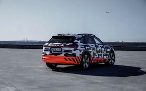 Picture the sky, Audi, rear view, 2018, E-Tron Prototype