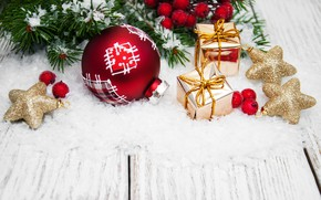Picture winter, holiday, toys, new year, Christmas, decor, composition, Olena Rudo