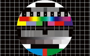 Picture test, television, tv signal