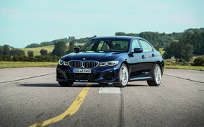 Picture asphalt, tuning, BMW, sedan, 3-series, Alpina, 3P, 2020, 2019, G20, B3 Sedan