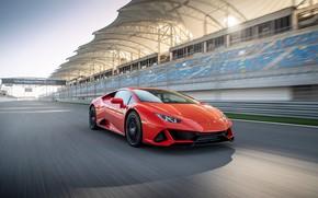 Picture speed, supercar, Evo, Huracan, 2019, Lamborghini Huracan Evo