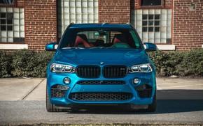 Picture BMW, Blue, Vossen, X5M, Sight, LED, F85