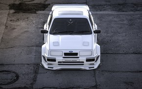 Picture Machine, Transport & Vehicles, Auto, Rendering, Sierra RS Cosworth, Ford Sierra RS, Ford Sierra RS …