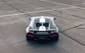 Picture Bugatti, back, Sport, W16, Chiron, spezzare, 2021, матово-серый, Les Légendes du Ciel, 1500 л.с.